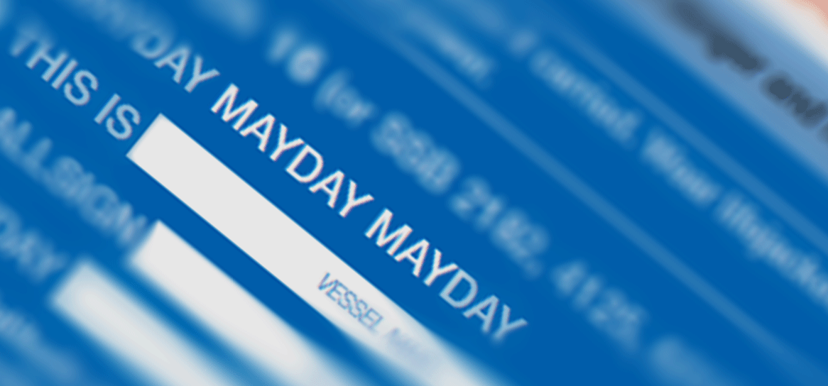 Get a quick guide for MAYDAY calling.
