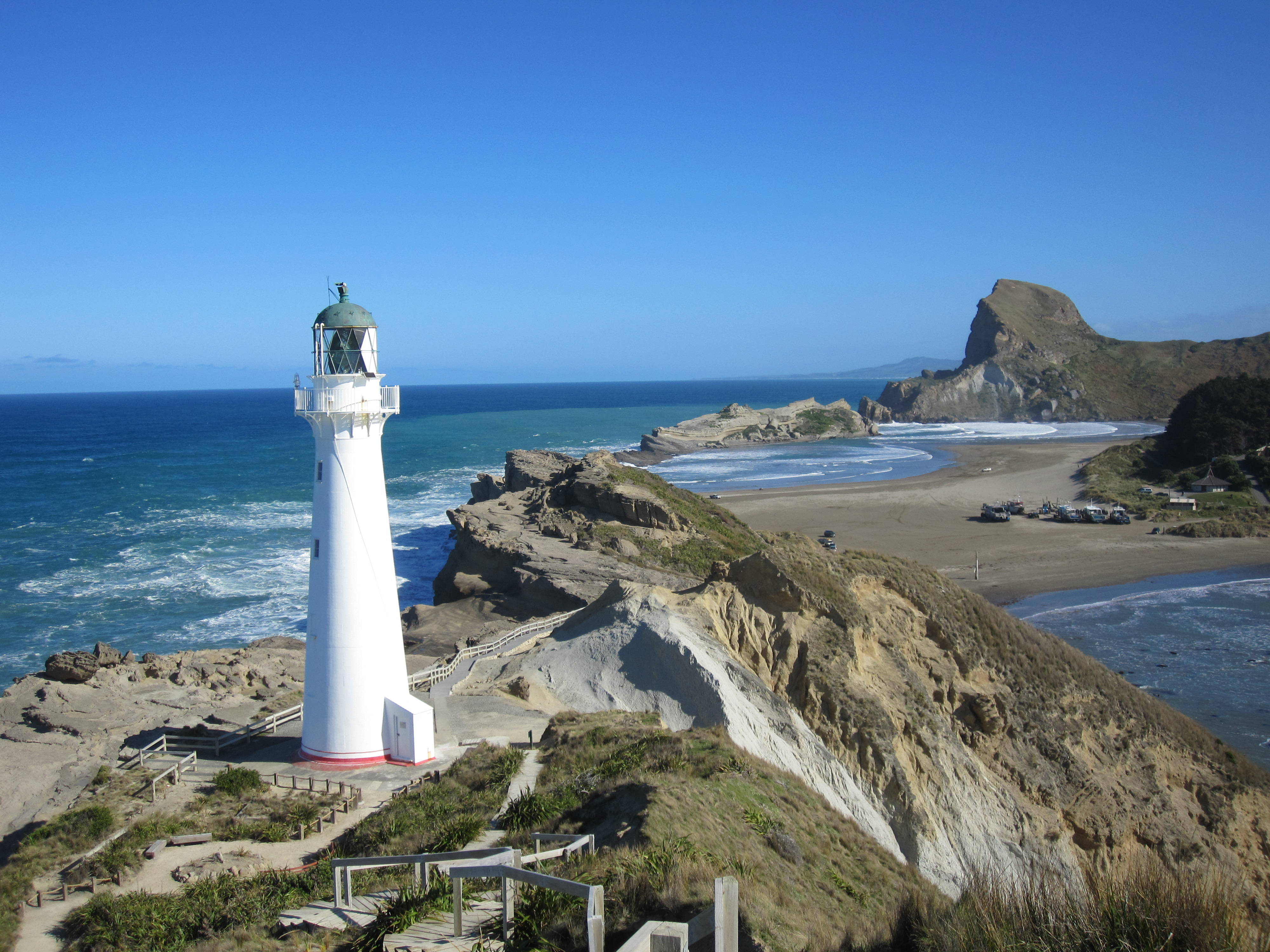 Castle Point Lighthouse Maritime Nz