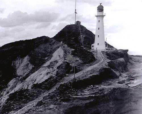Castle Point with signal station.