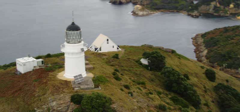 Mokohinau Islands lighthouse