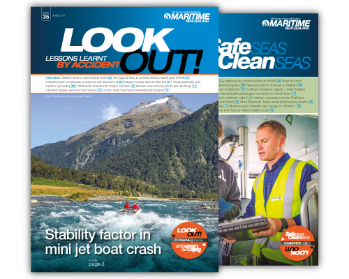 Publications by Maritime New Zealand are available as hardcopies and in a digital format.