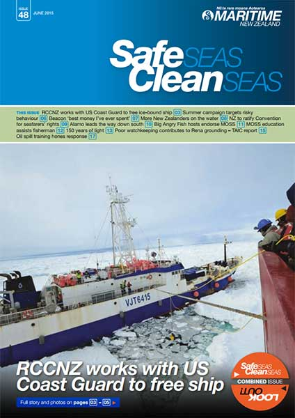 Safe Seas, Clean Seas cover