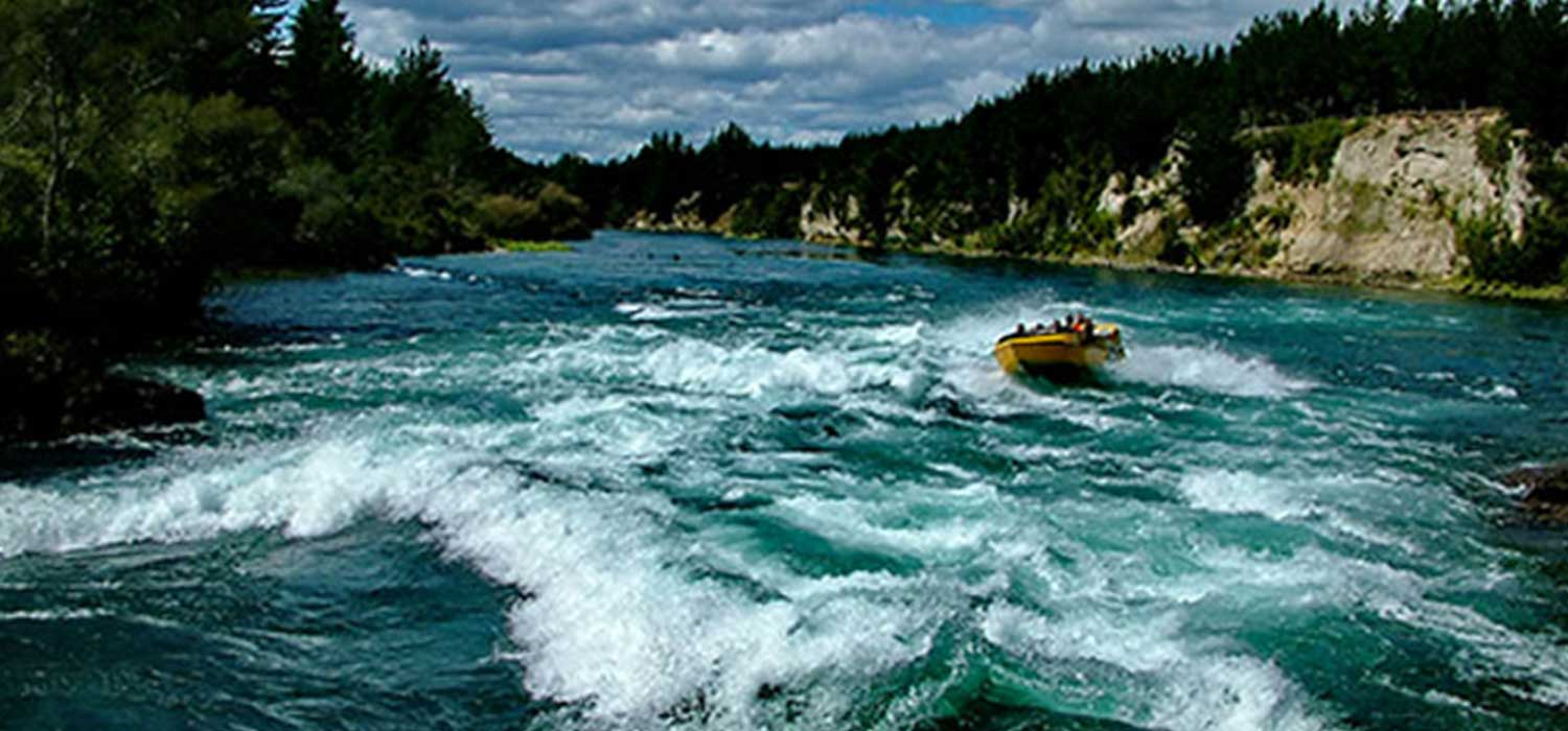 Commercial jetboats require a Safe Operational Plan.