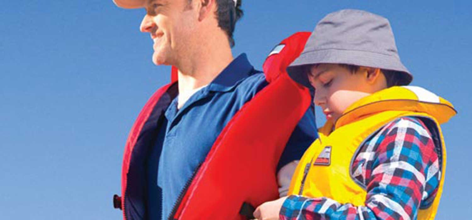 There are a variety of lifejackets and personal flotation devices available for recreational boaties.