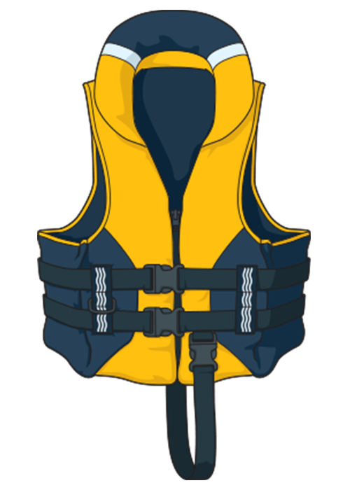 A type 402 lifejacket