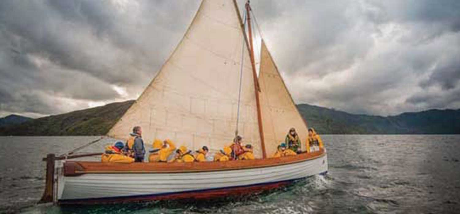 Sailing activities take place all around New Zealand.